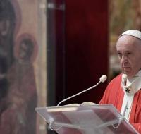 Las palabras del Papa Francisco en el Domingo de Ramos 2020
