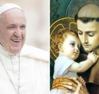 El Papa Francisco recordó a San Antonio de Padua en el día de su fiesta