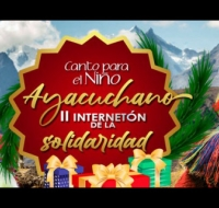 Internetón y una iniciativa de cara a la Navidad en Perú que cuenta con el apoyo de la Iglesia en Ayacucho