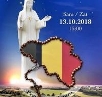 Rosario en las fronteras: 13 de octubre en Bélgica