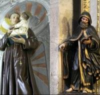 3 curiosidades que unen a San Antonio de Padua con San Antonio Abad