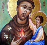 Los símbolos de San Antonio de Padua - El fuego
