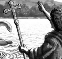 San Columba repelió al monstruo del Lago Ness