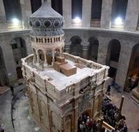 El Santo Sepulcro de Jerusalén vuelve abrir a los peregrinos