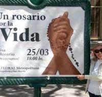 Un Rosario por la VIDA el 25 de Marzo en Argentina