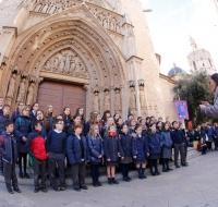 Valencia: sus calles serán animadas por los villancicos de más de 1.500 estudiantes