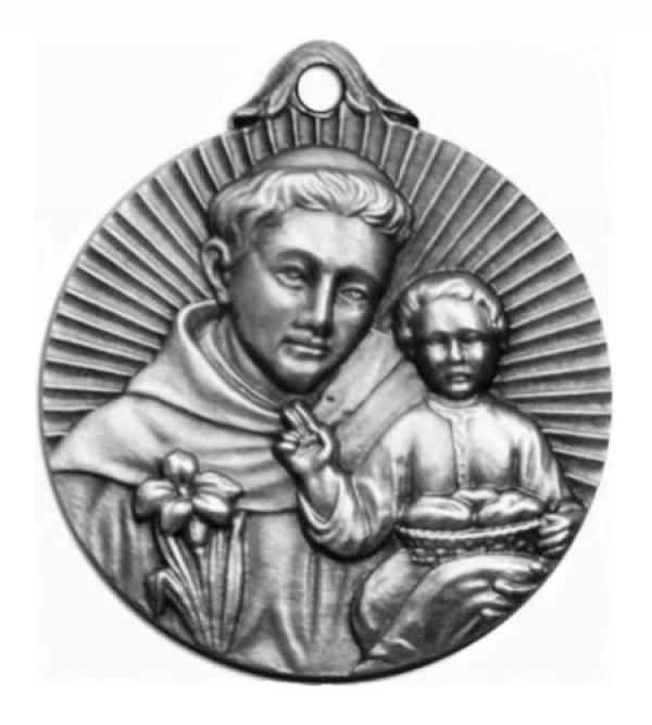 Medalla bendecida de San Antonio de Padua