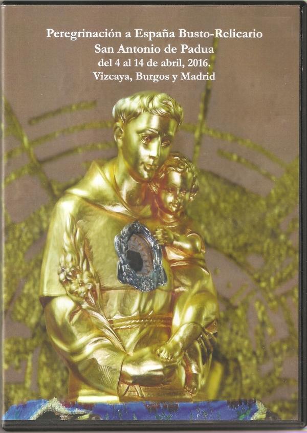 Peregrinación a Espana del Busto de San Antonio