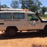 Ambulancia concedida por el Ministerio de Sanidad de Angola