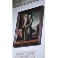 San Antonio de Padua. Catedral de Alcalá de Henares, Madrid