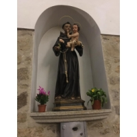 San Antonio de Padua en la ermita Ntra. Sra. de las Angustias, Navalmoral de la Masaya, Cáceres