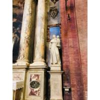 San Antonio de Padua. Escultura en la Basílica de Padua, Italia