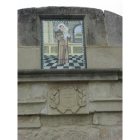 San Antonio de Padua. Fuente de San Antonio de Padua en Bellpuig-Lérida