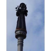 Monumento a San Antonio de Padua en Ceuta. Escultor D. Alejandro Pedrajas del Molino