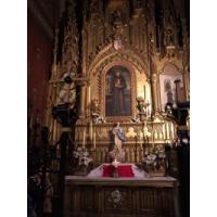 San Antonio de Padua en la Parroquia de Santa Cruz. Atocha, Madrid