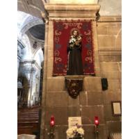San Antonio de Padua. Parroquia de San Isidoro el Real, Oviedo, Asturias