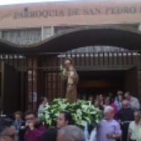 San Antonio de Padua. Parroquia San Pedro bautista, Alcorcón, Madrid