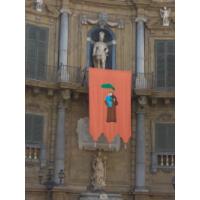 San Antonio de Padua en la Plaza de las Cuatro Fuentes, Palermo, Italia