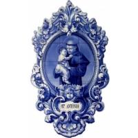 San Antonio de Padua. Azulejos