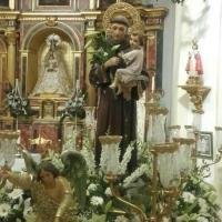 San Antonio de Padua. Iglesia Visitación de Nuestra Señora. Zarza de Tajo, Cuenca