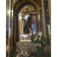 San Antonio de Padua. Parroquia de San Juan Bautista. La Puebla de Almoradiel, Toledo