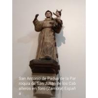 San Antonio de Padua. San Julián de los Caballeros, Toro, Zamora
