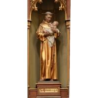 San Antonio de Padua, talla del siglo XX