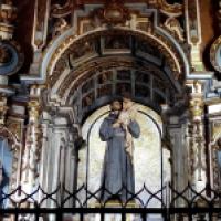 San Antonio de Padua en la Catedral de Santiago de Compostela, Coruña La