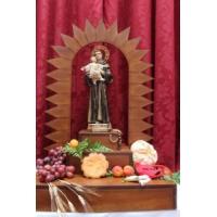 San Antonio de Padua en honor al Santo portugués. San Güímar, Tenerife
