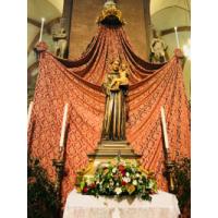 San Antonio de Padua en la Basílica de San Antonio, Padua, Italia