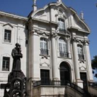 San Antonio de Padua en la Cripta de San Antonio de Padua, Lisboa