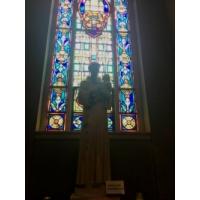 San Antonio de Padua. Iglesia St. Brigitte, Santa Brigida, Omaha, Nebraska, Estados Unidos