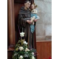 San Antonio de Padua, Sagrado Corazón de María, Guitiriz, Lugo