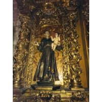 San Antonio de Padua. Santuario del Cristo de la Agonía, Limpias, Cantabria