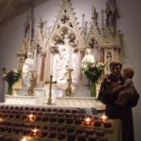 San Antonio de Padua. St. Patricks Cathedral Nueva York