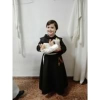 Un niño de Murcia vestido de San Antonio