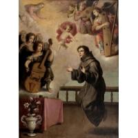 Visión de San Antonio de Padua, Museo del Prado, Madrid