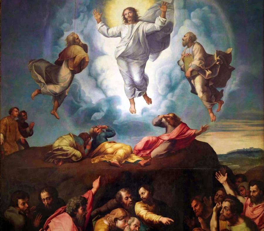 El Tabor de la transfiguración