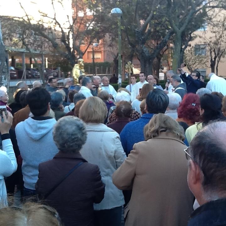 El Busto Reliquias De San Antonio De Padua En La Parroquia Nuestra Se 241 Ora Del Rosario En Madrid El 7 De Abril 2016 El Pan De Los Pobres